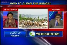 What can be done to clean Ganga?
