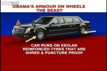 Obama's 'Beast', an armor on wheels