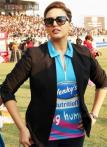 CCL 2015: Lisa Haydon and Huma Quereshi glam up Mumbai Heroes-Kerala Strikers match