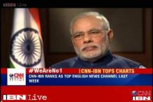 CNN-IBN becomes the Number 1 news channel