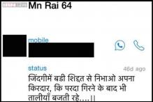 Braveheart Colonel MN Rai's Whatsapp status summed up his motto towards life and duty