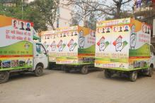 Congress goes hi-tech, vans and videos to showcase Delhi's development to woo voters
