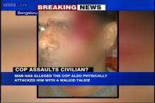 Bengaluru: Biker alleges attack by a traffic policeman