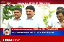 CBI fixing me in illegal telephone exchange case to please an RSS ideologue, alleges Maran