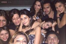 Photo of the day: Deepika Padukone, Gauri Khan, Shweta Nanda let their hair down at Farah Khan's birthday bash
