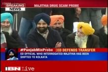 ED officer probing Majithia in drug trafficking case shifted to Kolkata
