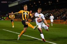 Cambridge hold Man United to 0-0 draw in FA Cup