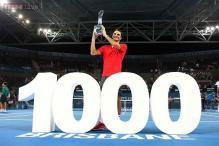 Roger Federer notches 1,000th match win, claims Brisbane title