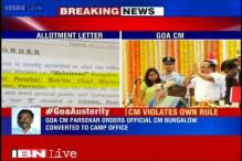 Goa CM occupies 2 official houses, violates his own government's austerity drive