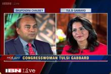 Hot Seat with Bhupendra Chaubey: US Congresswoman Tulsi Gabbard says her India visit to strengthen Indo-US ties