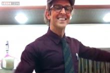 Watch: Hrithik Roshan, aka Rohit from 'Krrish 3', is hilarious as he dances to 'Ek ladki bheegi bhaagi si'