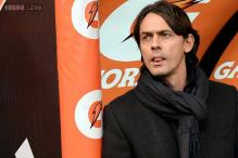 AC Milan's coach Inzaghi gets that sinking feeling