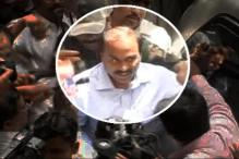 Former Karnataka Minister G Janardhan Reddy walks out of jail