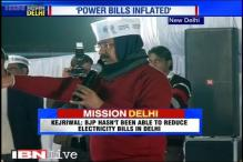 Arvind Kejriwal takes on the BJP over inflated electricity bills in Delhi