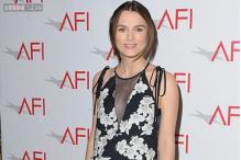 Keira Knightley makes first appearance since baby news