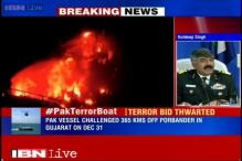 Coast Guard patrolling still on, area where Pakistan terror boat sank under surveillance
