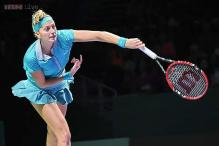 Kvitova beats Jovanovski in 2nd round of Shenzhen Open
