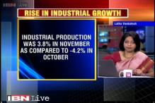 Indian industry picks up, inflation under control