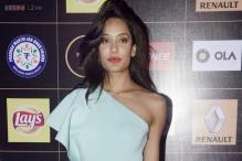 Look of the day: Lisa Haydon exudes radiance in a blue Gauri and Nainika gown