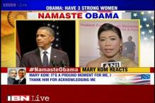 Watch: Mary Kom thanks Barack Obama for acknowledging her