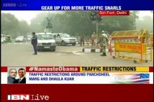Delhi: Traffic restrictions in place ahead of Obama's Siri Fort address
