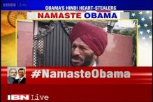 Happy that Barack Obama took my name, says Milkha Singh