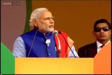 PM Modi addresses rally in poll-bound Delhi: As it happened