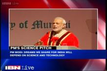 Dreams we share for India will depend on Science & Technology: PM Modi