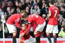 Van Persie, Falcao score as Manchester United beat Leicester City 3-1
