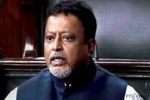 Mukul Roy at CBI office for questioning in Saradha scam