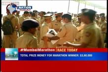 2015 edition of Mumbai Marathon begins with 40,485 participants