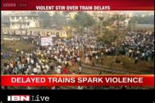 Mumbai: Delay in local trains led to massive disruption by angry passengers