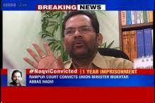 Union Minister MA Naqvi sentenced to one-year jail, Rs 4000 fine for violating prohibitory order; gets bail