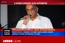 Filmmaker Pahlaj Nihalani apppointed the new Censor Board chief