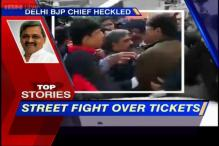 News 360: Rift within BJP exposed, street fight over tickets distribution