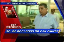 News 360: SC disallows Srinivasan to contest BCCI elections