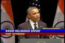 News 360: Guard against religious strife, says Barack Obama