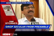 News 360: Shiv Sena drops a political bomb, says drop 'secularism' from preamble