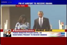 Watch: With a warm hug Narendra Modi welcomes Barack Obama in Delhi