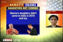 Obama's daughters Sasha, Malia not to accompany him to India