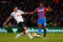 Crystal Palace beat Tottenham 2-1 in Alan Pardew's first game