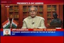 Full text of Address by President Pranab Mukherjee on Republic Day eve