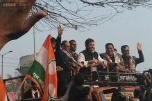 Rahul Gandhi's roadshow aims to revive Congress's fortune in Delhi Assembly elections