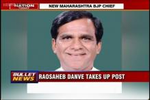 Union Minister Raosaheb Patil Danve named new Maharashtra BJP chief