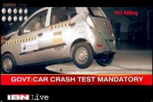 Car crash test mandatory, says government