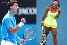 Serena, Djokovic advance to 2nd round at Australian Open