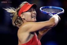 Maria Sharapova wins first round match at Australian Open