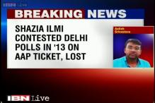 Delhi elections: Former AAP leader Shazia Ilmi to campaign for BJP, may join tomorrow