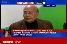 Jayanthi Natarajan acting at the behest of her 'new political masters', says Abhishek Manu Singhvi