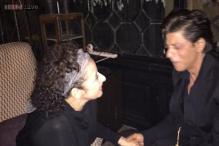 Snapshot: Manisha Koirala tweets her photo with Shah Rukh Khan, calls his charisma unmatched